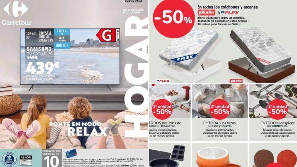 Catálogo ofertas de Carrefour Abril dos mil veintiuno