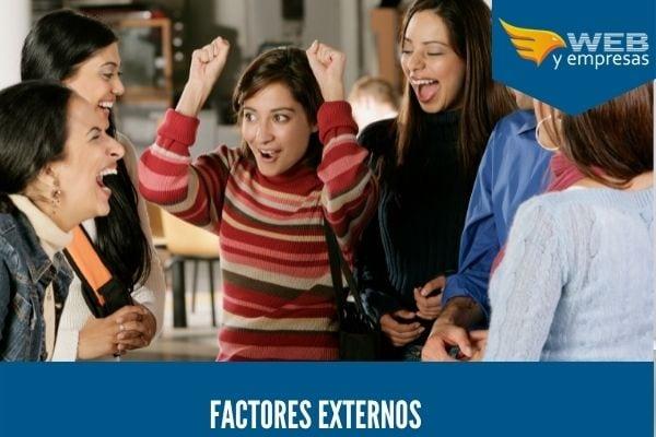 género de factores externos