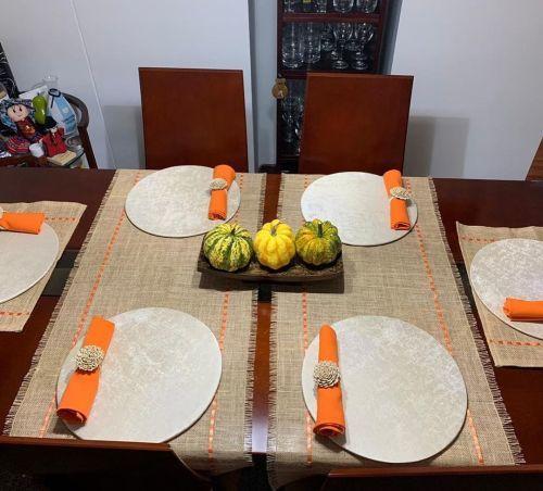 Calabazas para decorar mesa