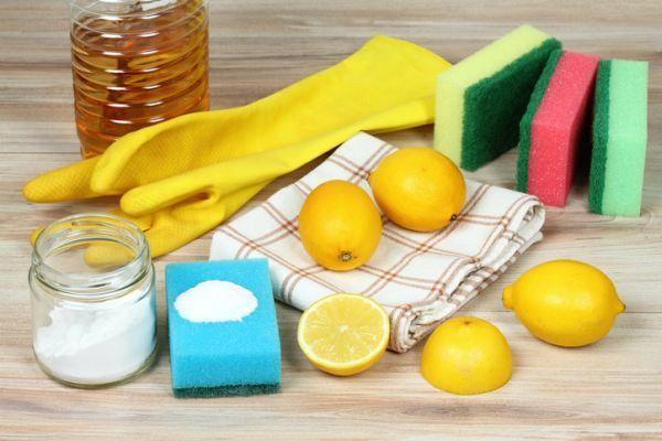 Como adecentar un sofa de lona con limon sal