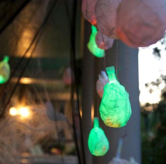 DIY luces de Halloween para decorar